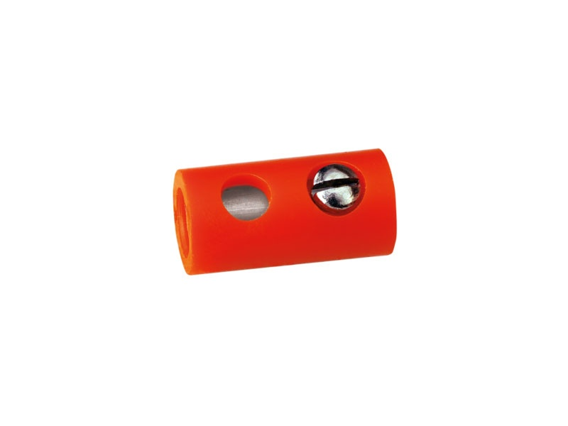 Muffen rund, orange [10 Stück]