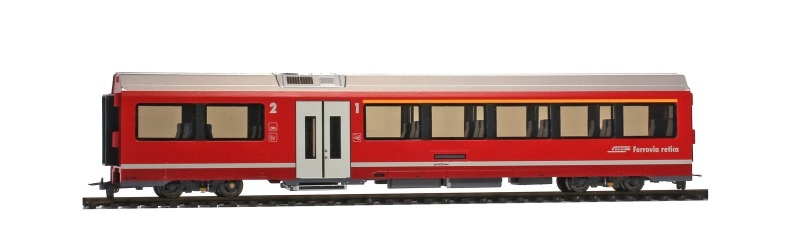 RhB AB 572 01 AGZ Mittelwagen, Spur H0m