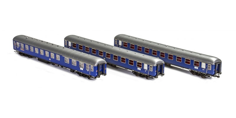 3tlg Messezug Hannover der DB Ep.IV, DC, Spur H0
