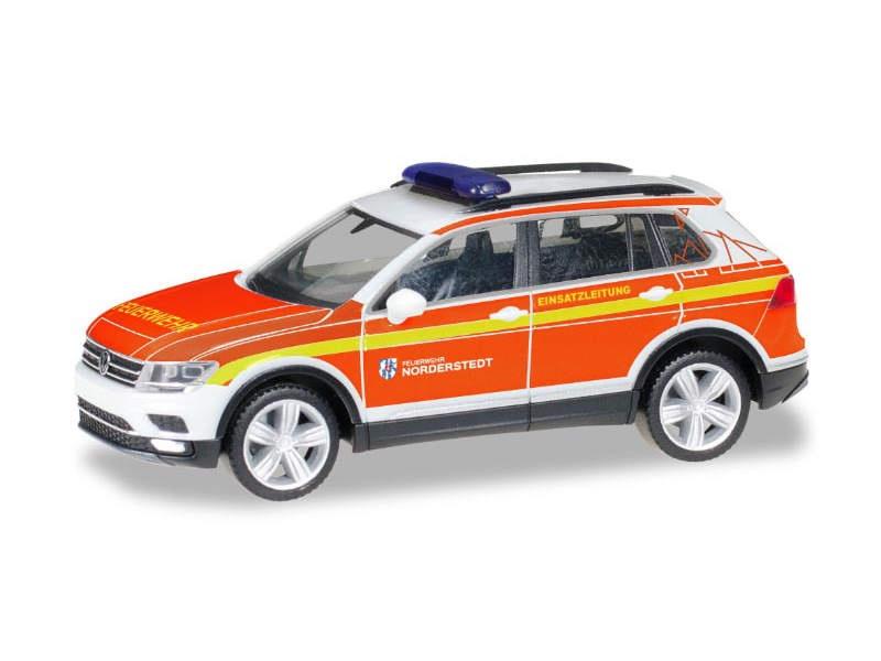VW Tiguan Kommandofahrzeug, FFW Norderstedt 1:87 / H0