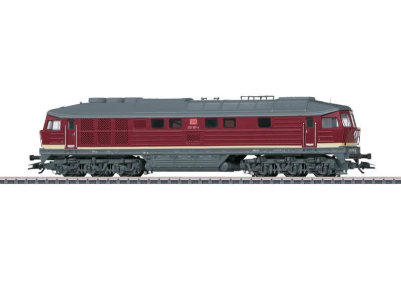 Schwere Diesellokomotive BR 232 DB AG Sound mfx H0