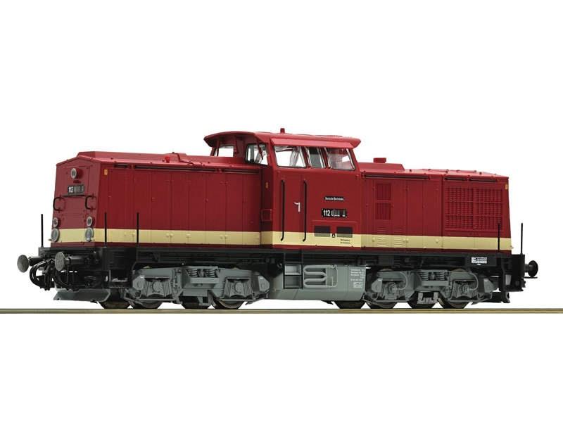 Diesellok BR 112 DR H0