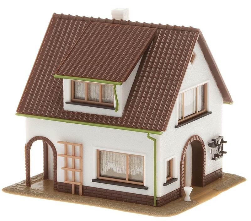Haus mit Dachgaube Bausatz H0