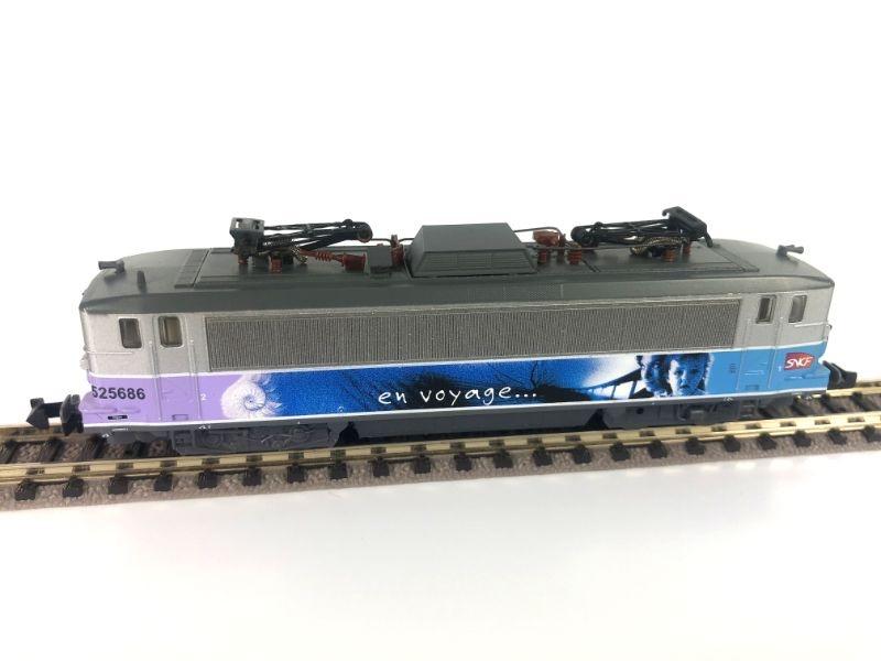 Elektrolokomotive BB 525686 der SNCF, Epoche VI, Spur N