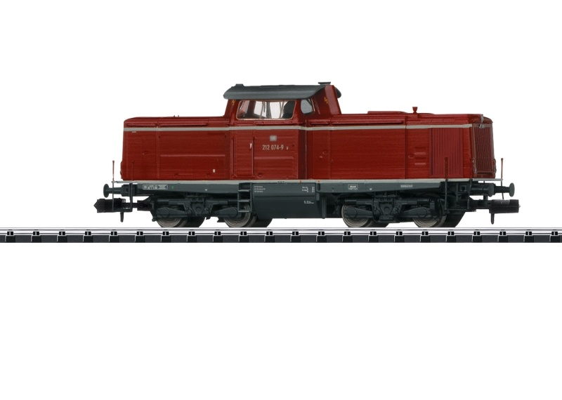 Diesellokomotive Baureihe 212 der DB , Minitrix Spur N