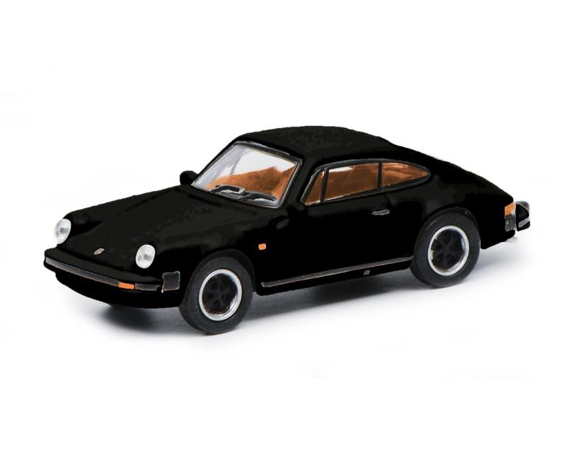 Porsche 911 3.2, schwarz 1:87 / Spur H0