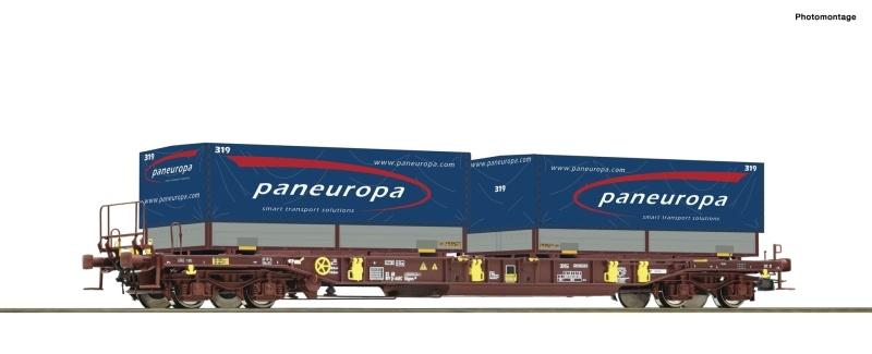 Taschenwagen T3 der AAE, Paneuropa, DC, Spur H0