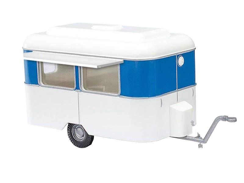 Nagetusch Verkaufswagen, Weiß/Blau, Spur H0