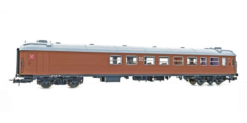 Topline SJ RB1 5167 Restaurant- und Personenwagen, Spur H0