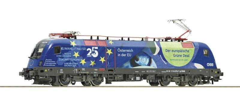E-Lok 1116 276 25 Jahre Österreich in der EU Sound, DC, H0