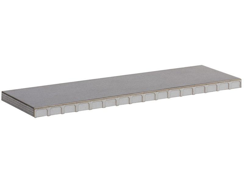 Universal-Bahnsteig Laser-Cut Bausatz Spur H0