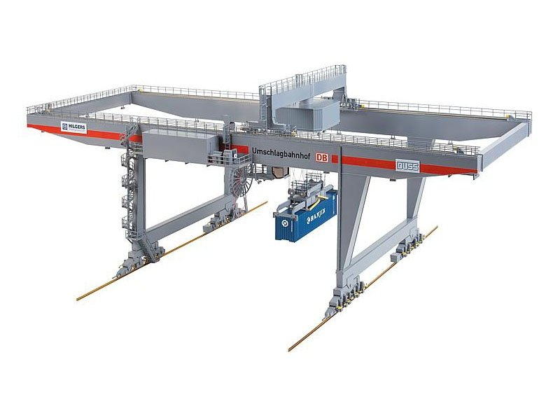 Containerbrücke Bausatz H0