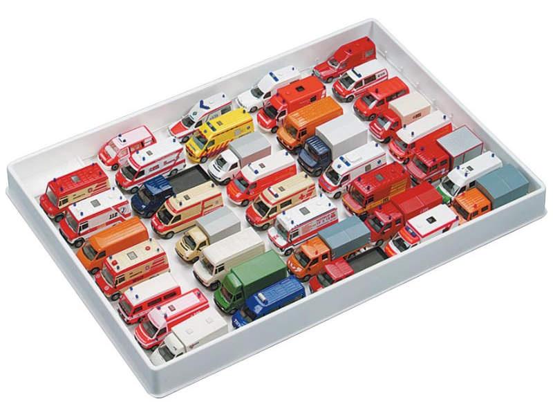 Sammelbox f. Transporter/Einsatzfahrzeuge im Maßstab 1:87/H0