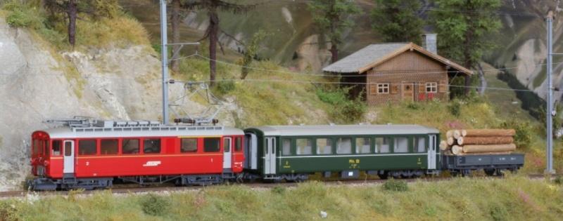 Zugpackung Berninabahn der RhB, digital, Spur H0m