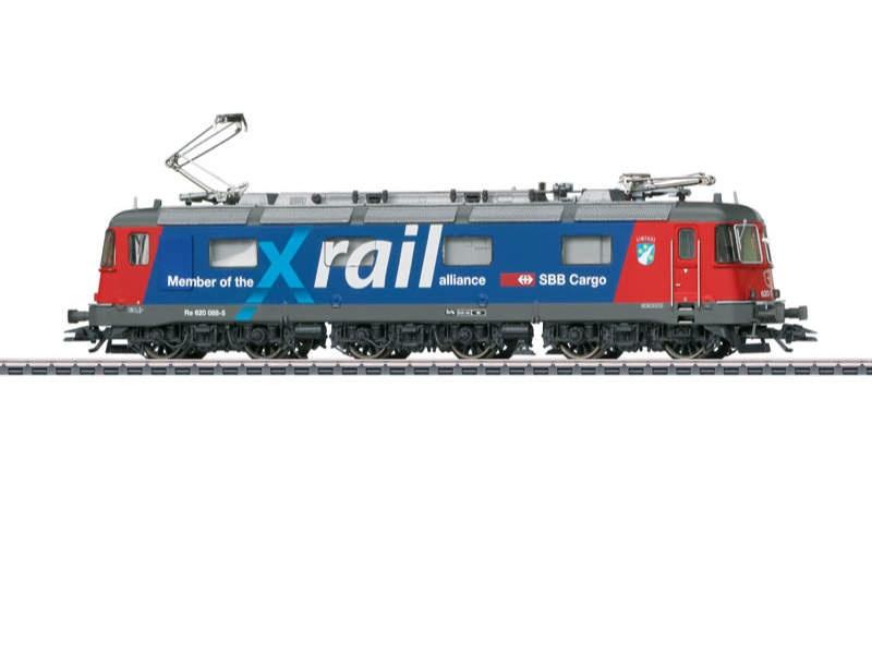 Schwere Elektrolokomotive Serie Re 6/6 Xrail SBB mfx+ H0