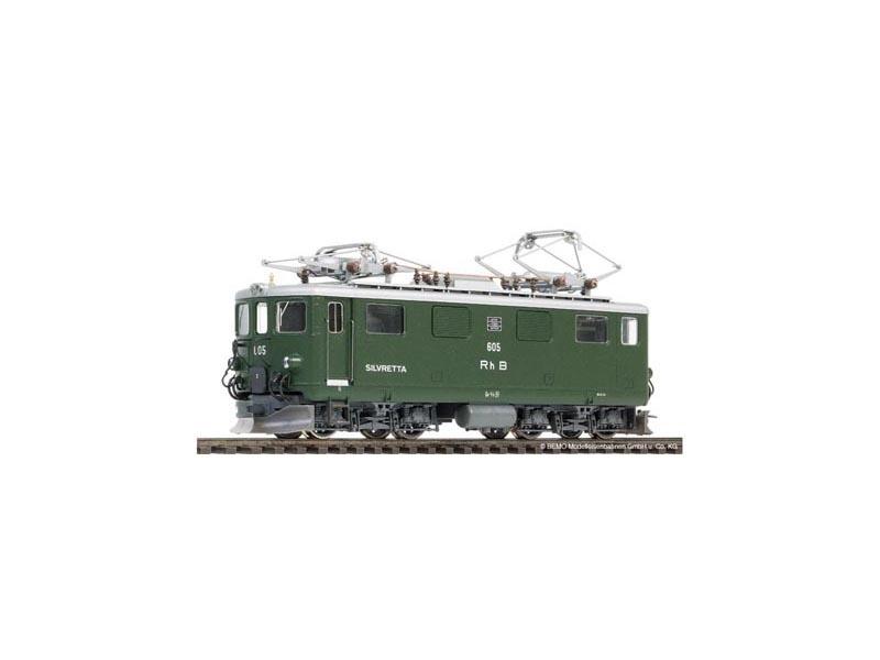 RhB Ge 4/4 I 605 Silvretta Elektrolokomotive, Spur H0m