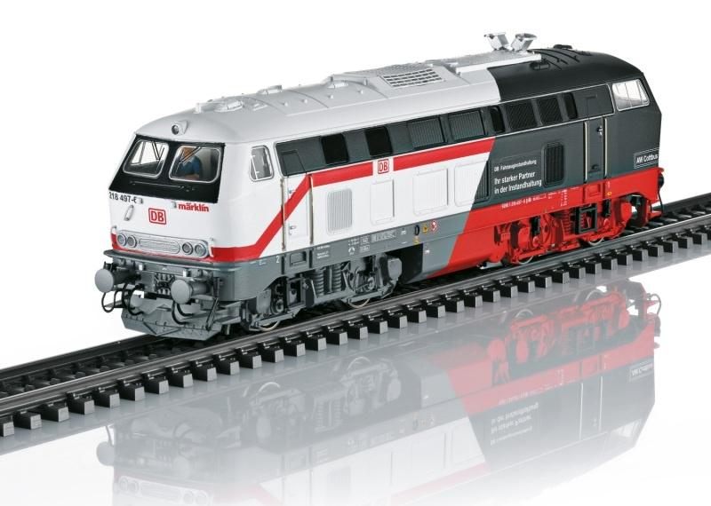 Diesellokomotive Baureihe 218 Cottbus, DB AG, Sound, mfx, H0