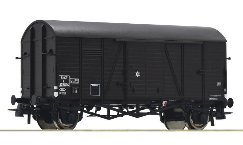 Gedeckter Güterwagen Oppeln der SNCF, DC, Spur H0