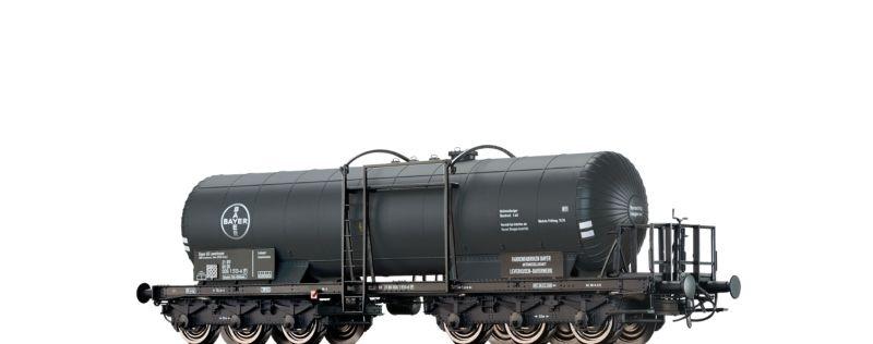 Kesselwagen 6-achsig Bayer der DB, Epoche IV, Spur H0