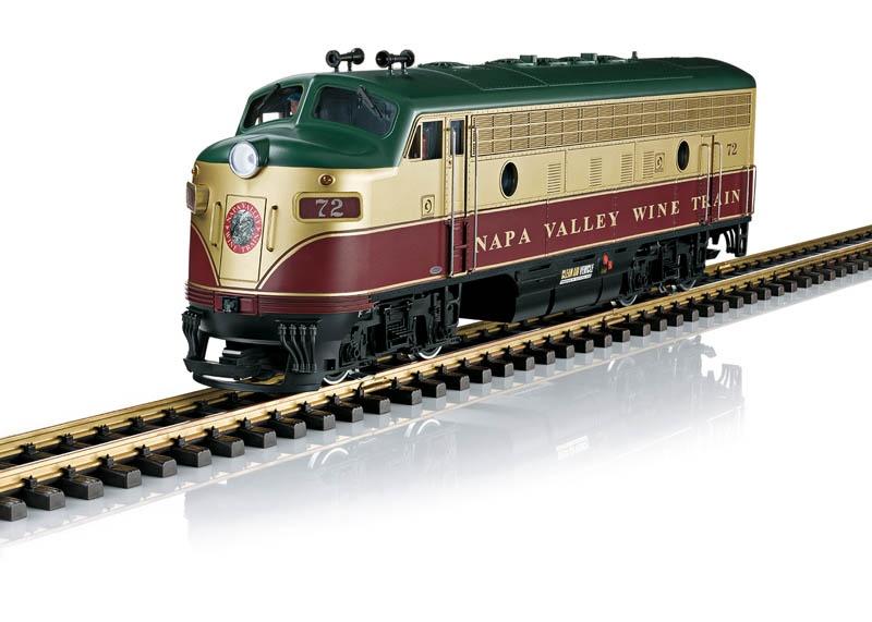 Napa Valley Diesellok F7 A EMD Spur G
