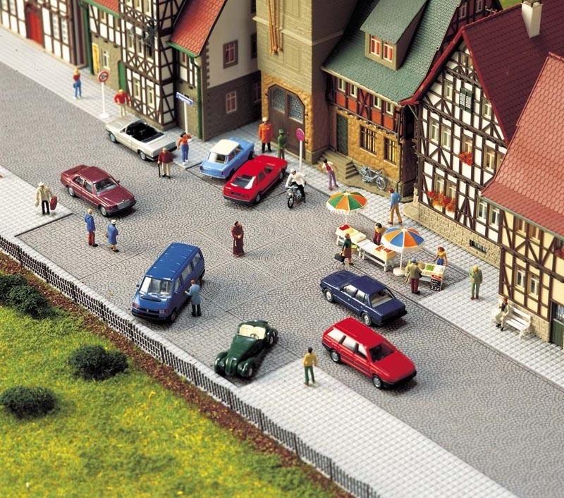 Altstadt-Pflaster-Platz, Spur H0
