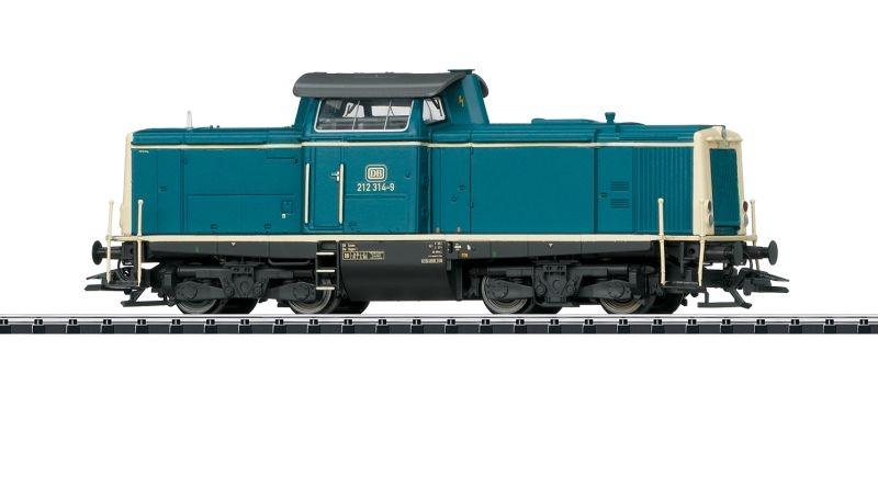 Diesellokomotive Baureihe 212 der DB, mfx, DCC, DC, Spur H0