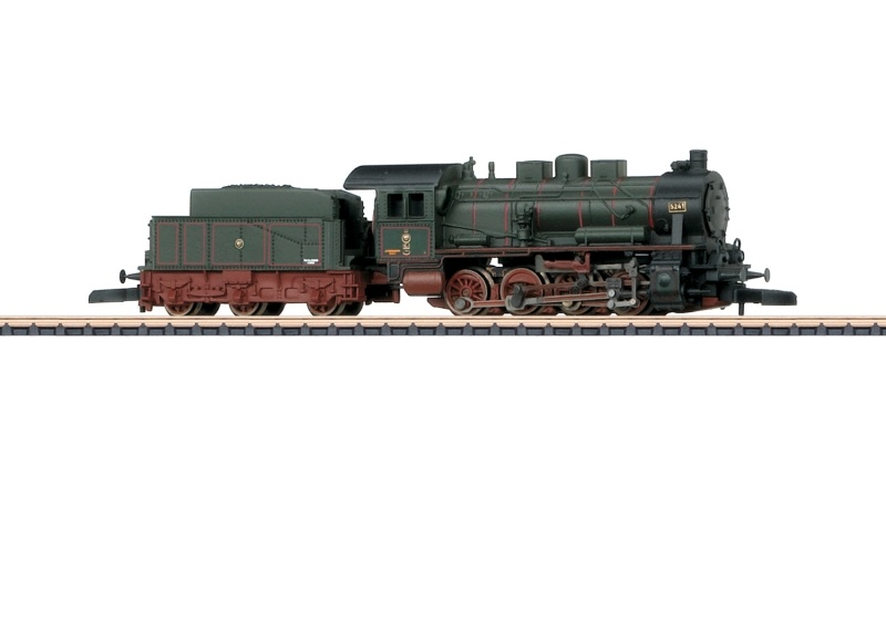 Dampflokomotive Gattung G 8.1 der K.P.E.V., Spur Z