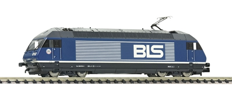 Elektrolokomotive Re 465 der BLS, Sound, Spur N