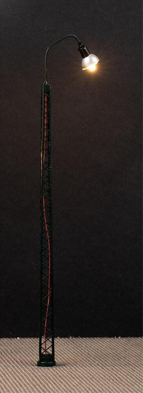 LED-Gittermast-Bogenleuchte, 3 Stück, H0