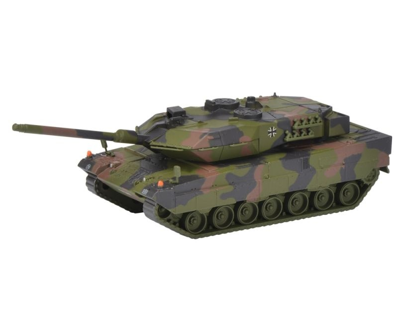 Leopard 2A6 Panzer Bundeswehr, flecktarn 1:87 / Spur H0