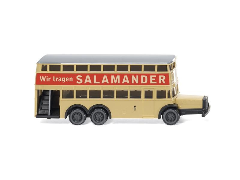Berliner Doppeldeckerbus D 38 Salamander 1:160 / Spur N