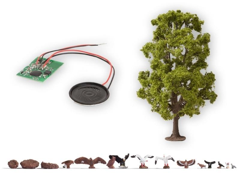Baum mit Vogelzwitschern, H0