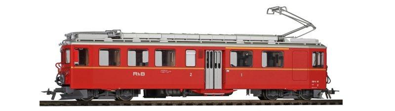 RhB ABe 4/4 46 Nostalgie-Triebwagen BB, Sound, Spur H0m