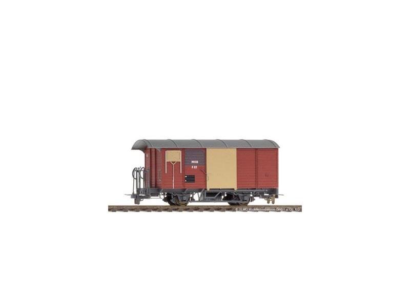 Bahndienstwagen X 22 der MOB, Spur H0m