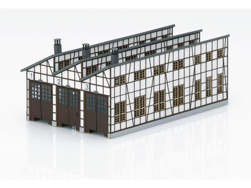Bausatz Lokschupppen Rottweil, Spur H0