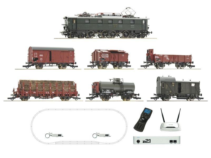 z21 Digitalset: Elektrolokomotive BR E 52 Güterzug, DRG, H0