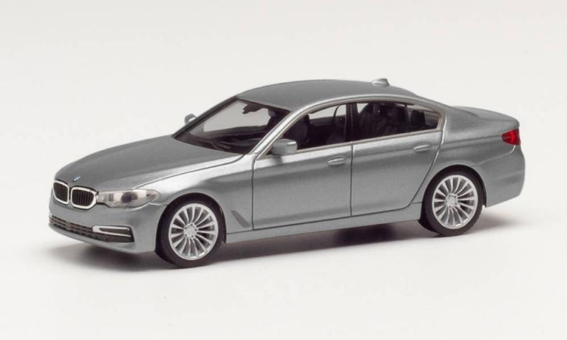 BMW 3er Limousine, mineralgrau metallic, 1:87 / Spur H0