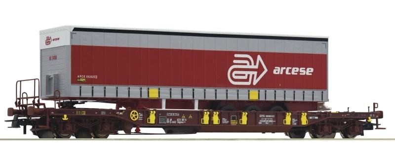 Taschenwagen T3 der AAE, Arcese, DC, Spur H0