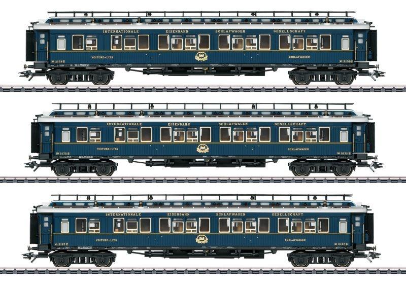 Schnellzugwagen-Set 2 Simplon-Orient-Express, Spur H0