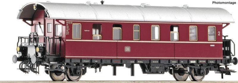 Steuerwagen 2. Klasse, DB, mit Funktionsdecoder, DC, Spur H0