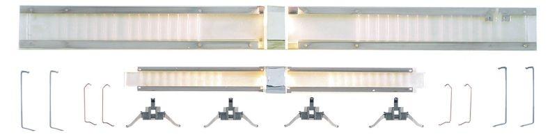 Beleuchtungsgarnitur für Doppelstockwagen, Spur H0