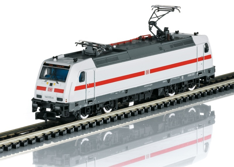 Elektrolokomotive BR 146.5, DB AG, Sound, Minitrix Spur N