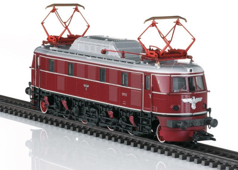 Museumslok E-Lok Baureihe E19.1 der DR, mfx, DCC, Spur H0