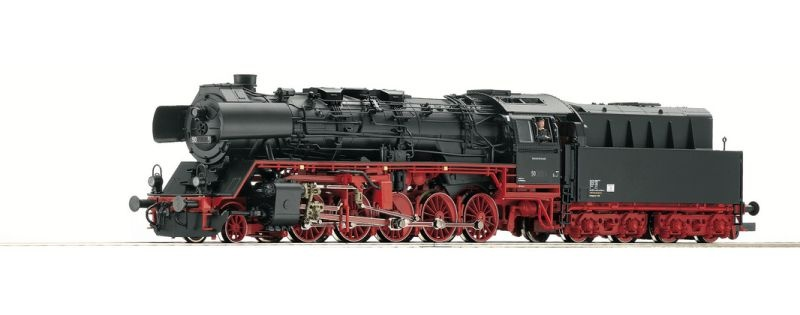 Dampflokomotive BR 50.50 der DR, Epoche IV, Spur H0