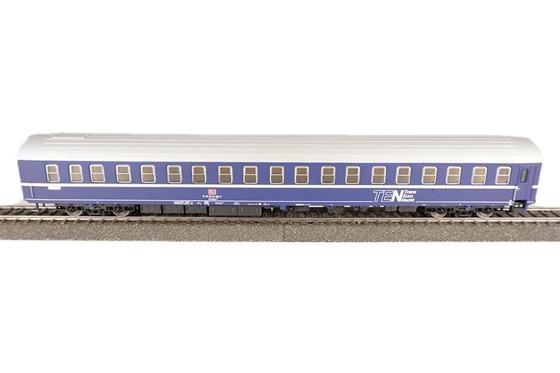 Schlafwagen T2s, blau, DB, Epoche lV, DC, Spur H0