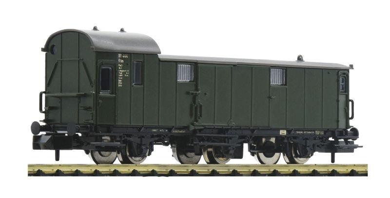 3-achsiger Gepäckwagen Pw3i-pr11 der DB, DC, Spur N