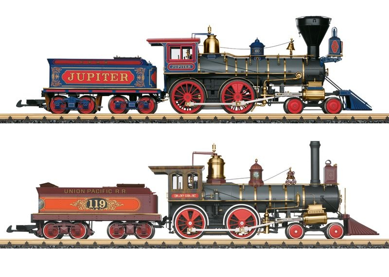Dampflokomotiven-Set Golden Spike, Epoche VI, Spur G