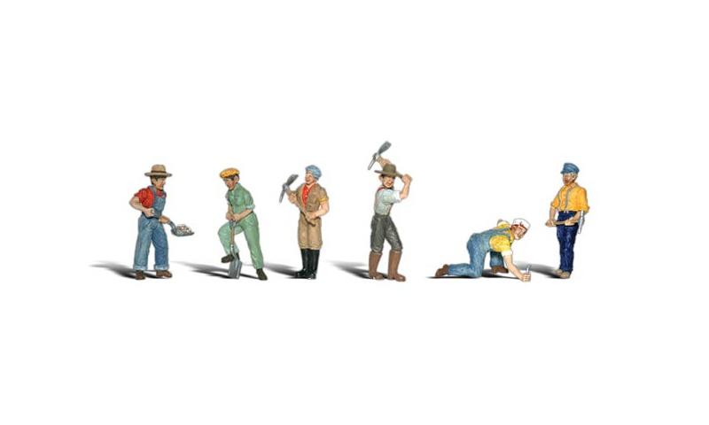 Gleisbauarbeiter Figuren, Spur H0
