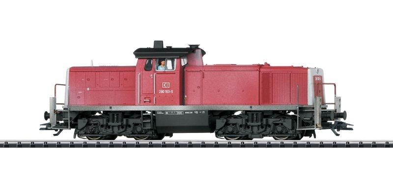 Sound-Diesellokomotive Baureihe 290 der DB AG, Ep.V, Spur H0