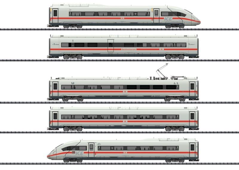 Triebwagenzug ICE 4 Baureihe 412/812, Sound, mfx, DC, H0